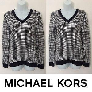   Michael Kors   Chunky Knit V Neck Sweater