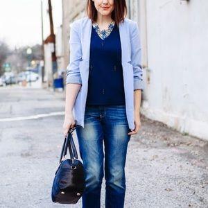 Greylin Jackets & Blazers - Greylin Lace-Lined Blazer
