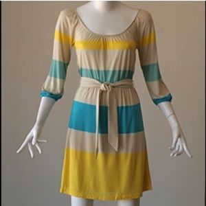 Juicy Couture Dresses & Skirts - Juicy Couture yellow teal dress sz m