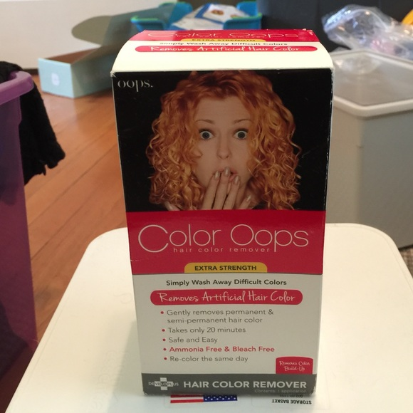 Other Color Oops Hair Color Remover Poshmark