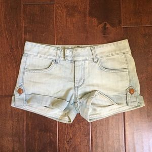 Anlo Pants - Anlo Denim Kira Hot Shorts in FIJI