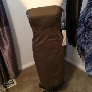 GAP Dresses - NWOT Gap Brown/Mocha Strapless Dress