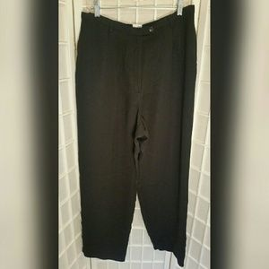 Emma James Pants - Ladies black dress pant with waist extender 16