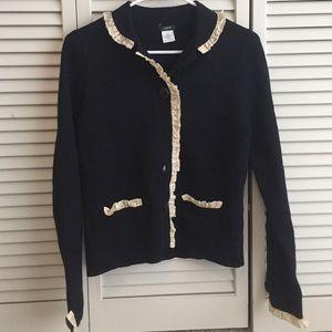 J. Crew Sweaters - J.Crew navy blue sweater size M EUC