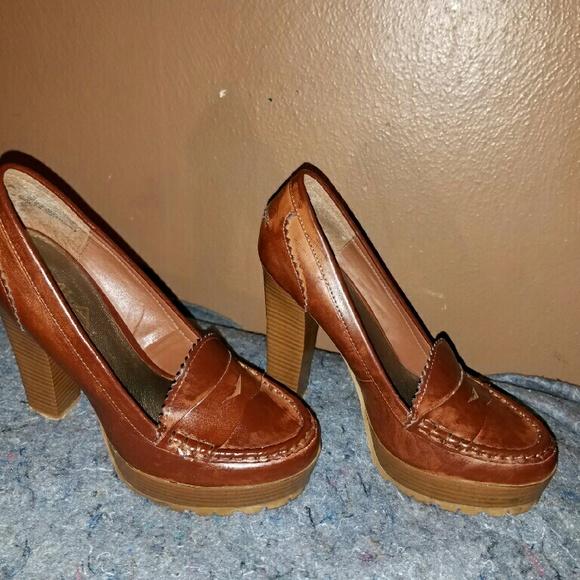 MIA Shoes   Mia Platform Penny Loafers