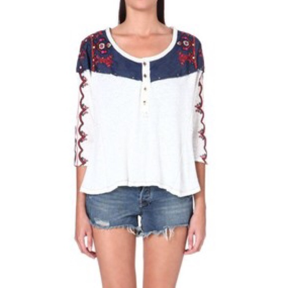 Free People Tops - Free People Rio Henley