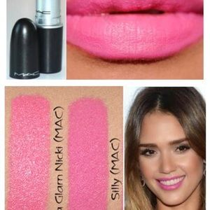 MAC Cosmetics Other - MAC Lipstick Matte Hot Pink SILLY New in Box