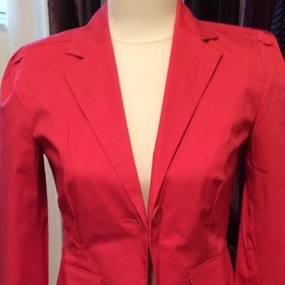 GAP Jackets & Blazers - NWOT Gap Coral Blazer
