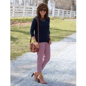 Ann Taylor Julie style printed pants