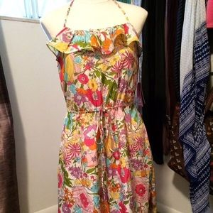 Dresses & Skirts - NWT Liberty Of London Floral  Halter Dress