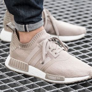 Adidas Other - Adidas NMD Primeknit French Beige/ Vapour Gray
