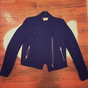 SALE Zara Wool Bomber Jacket