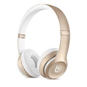 Gold Beats Solo 2 gold wireless headphones