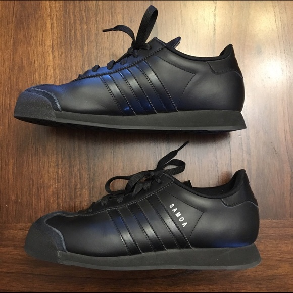 adidas Shoes - Black Adidas Samoa Shoes 9079061ce41c