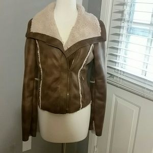 Brown Kenneth Cole Jacket Small
