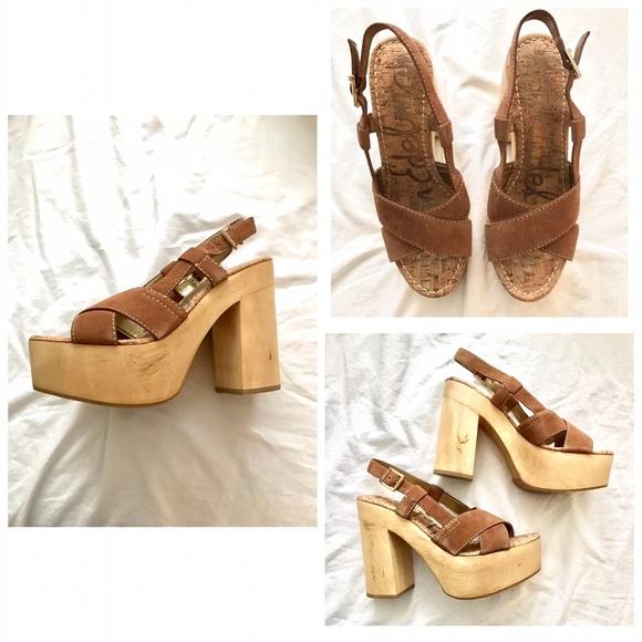 538fcf5615e7e6 Sam Edelman Mae Saddle Platform Heels