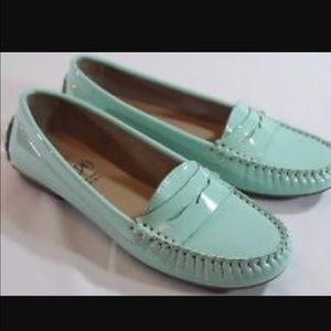 Sea Green Loafers