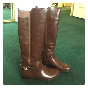 Unisa Shoes - Brown Leather Boots