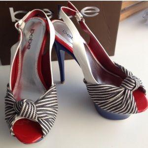 Bebe pinup stilettos heels