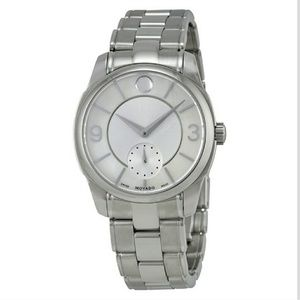 NWT 1,395 movado LX Stainless steel watch
