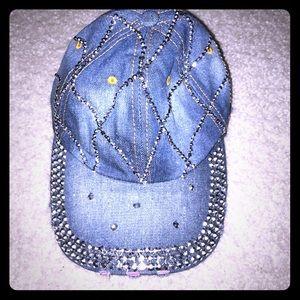 Newbling denim hat adjustable strap