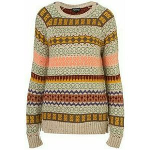 Topshop Sweaters - Topshop Fair Isle Sweater