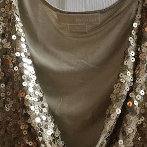 Michael Kors sequin top.