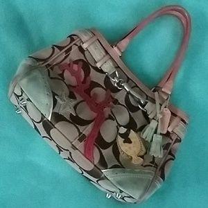 Rare limited edition Coach Ocean life handbag