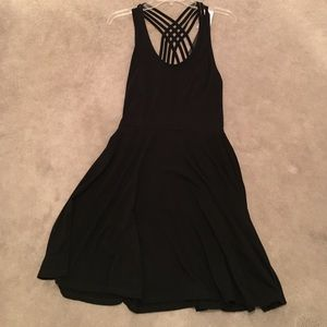 poof couture Dresses & Skirts - Strappy black dress