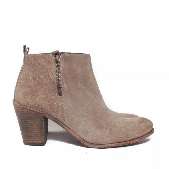 6d00a5410e8 Anthropologie Shoes - Anthropologie HOSS Intropia Suede Zip Bootie