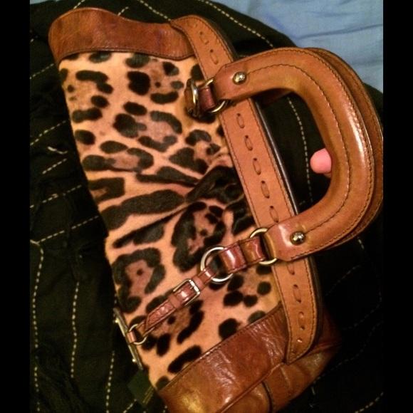 Dolce   Gabbana Leopard Print FUR BAG 3d9e4237a49c1