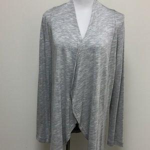 Soft Surroundings Cardigan- Gray - NWOT