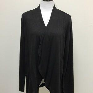 Soft Surroundings Cardigan- Black NWOT