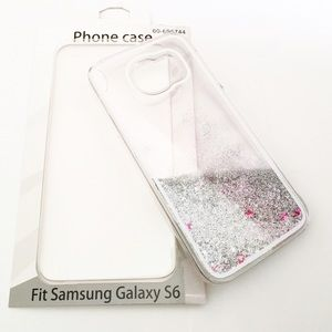 Samsung Galaxy 6 Accessories - 💫Floating Glitter Case💫