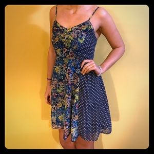 Boho Gypsy Sisters Dresses & Skirts - Blue floral summer dress