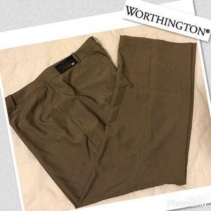 "Women's ""Worthington"" Plus 24W curvy fit trousers"