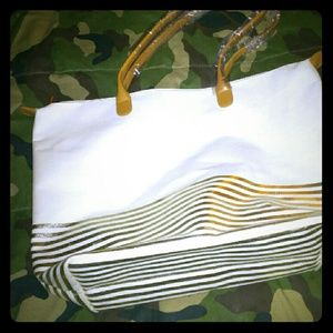 Big white tote bag