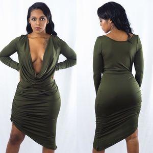 Ashlee Natalia Dresses & Skirts - Low Cut Dress