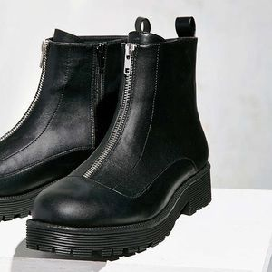 Urban Outfitters Shoes - ❣️SALE❣️UO Modern Zip Moto Boot