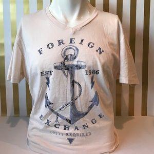 Foreign Exchange Other - Men's Vneck Tshirt