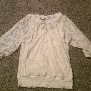 Dress Barn Lacey Blouse