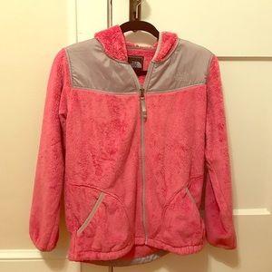 Pink North Face Jacket