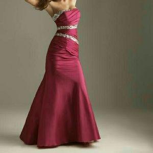 Night Moves Dresses & Skirts - Night Moves Fushia Dress