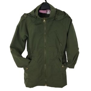 Other - Little Girls Olive Green Military/Utility Jacket