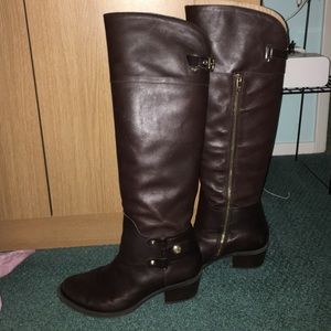 Knee high Vince Camuto Brown Boots