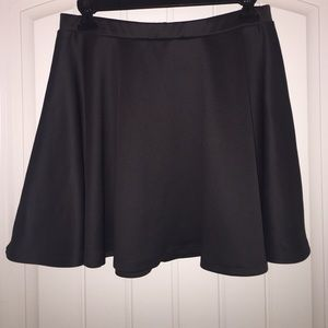 Grey and Teal Skater Skirts