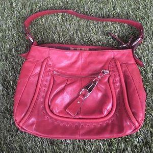 b. makowsky Handbags - Maroon hobo purse