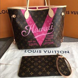 Louis Vuitton Handbags - NWT Limited Edition Louis Vuitton MM Neverfull