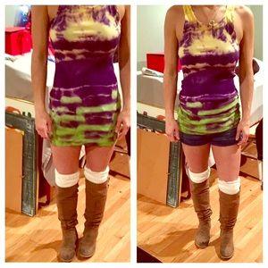 Boho Loco Fashion Boutique Tops - Tie Dye Tank Dress NWOT