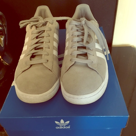 Adidas Shoes - Adidas Campus Grey women s size 8 men s 6.5 24cf8c48ed38